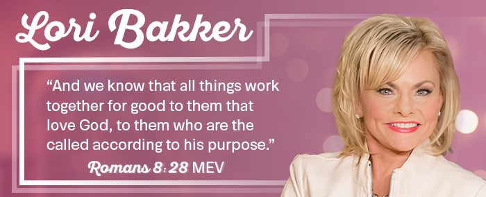 About Lori Bakker - Romans 8:28