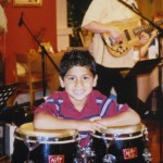 Ricky-Bakker-playing-drums-on-The-Jim-Bakker-Show