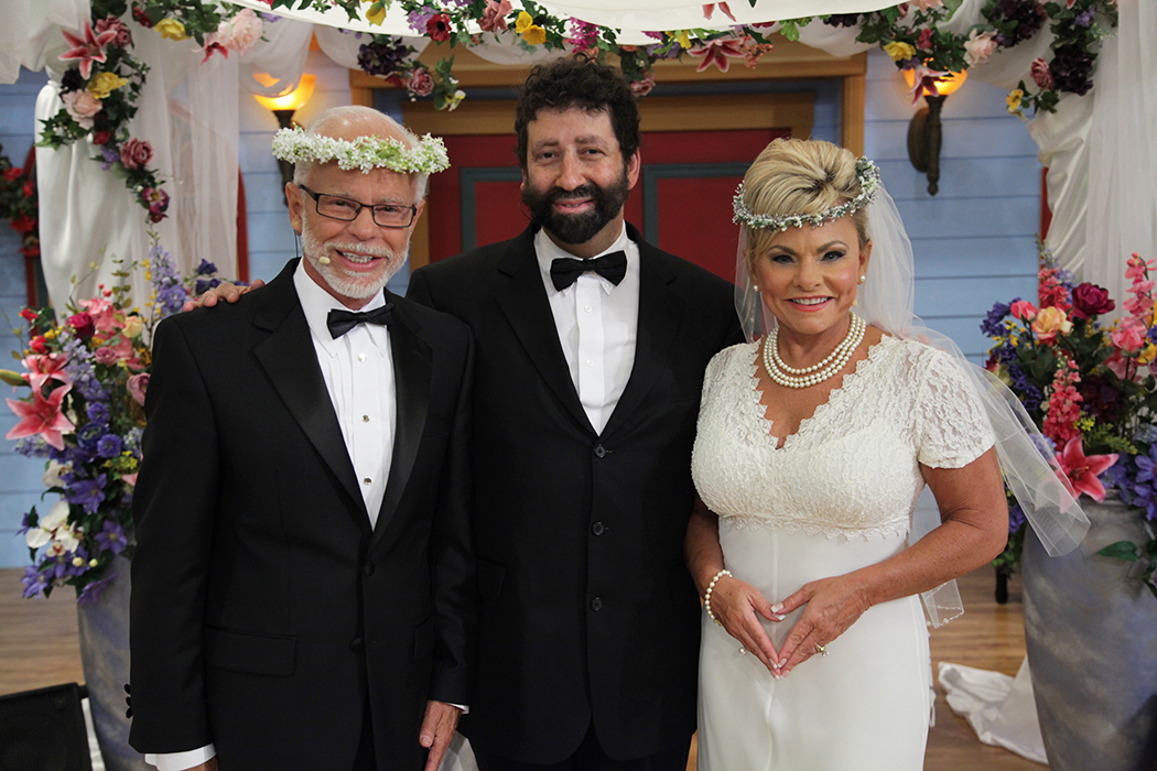 Jim Bakker Lori Bakker Rabbi Jonathan Cahn Wedding The