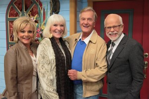 Jim and Lori Bakker with Pat and Shirley Boone at Morningside