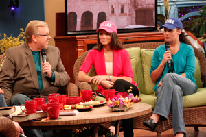 Jim Bakker Show Philip Cameron with Natalie and Constantia from Stella's House Show 1933