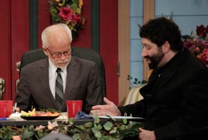 Pastor Jim Bakker with Rabbi Jonathan Cahn Show 1992
