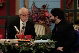 Pastor Jim Bakker and Rabbi Jonathan Cahn Show 1995