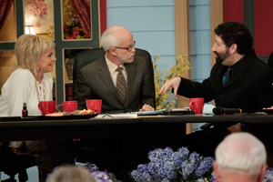 Jim Bakker Lori Bakker and Rabbi Jonathan Cahn