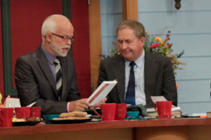 Jim Bakker and John Shorey