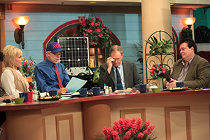 Lori Bakker, Pastor JIm Bakker, John Shorey, and Kevin Shorey