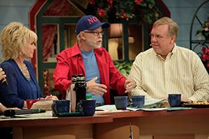 Lori Bakker, Pastor Jim Bakker, and Philip Cameron