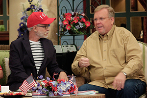 Pastor Jim Bakker and Philip Cameron