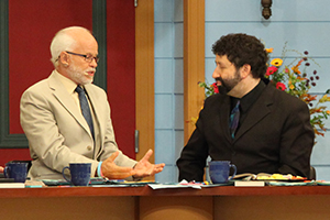 Pastor JIm Bakker and Rabbi Jonathan Cahn