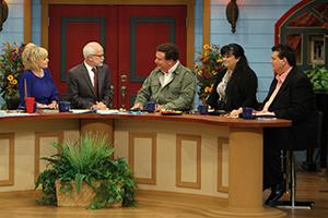 Lori Bakker, Pastor Jim Bakker, John Kilpatrick, Tammy Sue Bakker, and Kevin Shorey