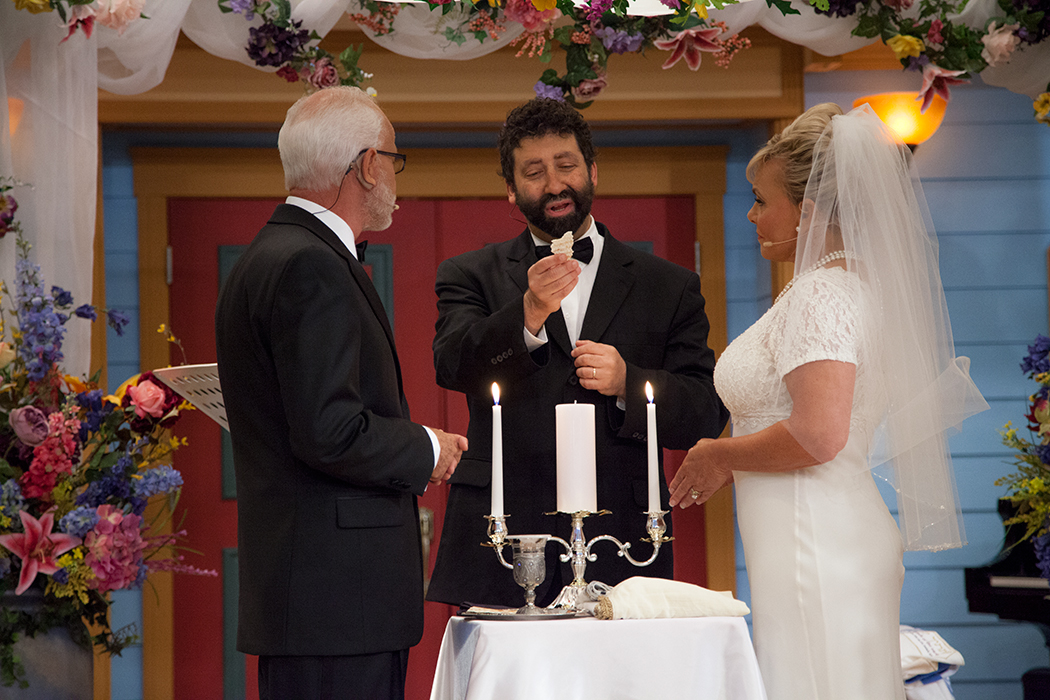 Rabbi Jonathan Cahn Blessing Matzah The Jim Bakker Show