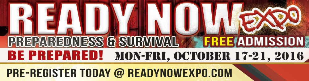Attend the Ready NOW Expo : Oct 17-21, 2016