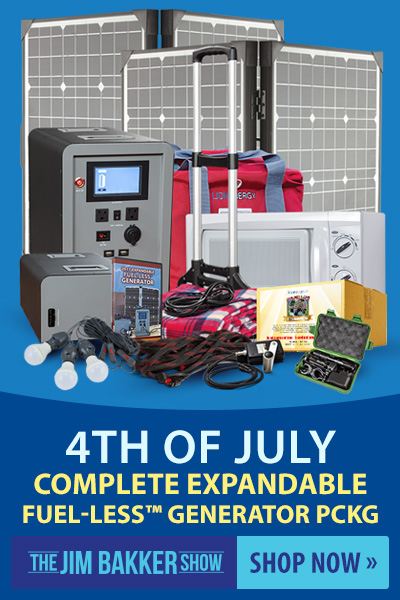 July 4th Complete Expandable FUEL-LESS Generator Package