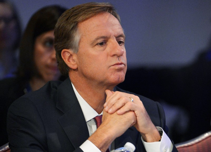 File photo of Tennessee Republican Governor Haslam listening during the National Governors Association Winter Meeting