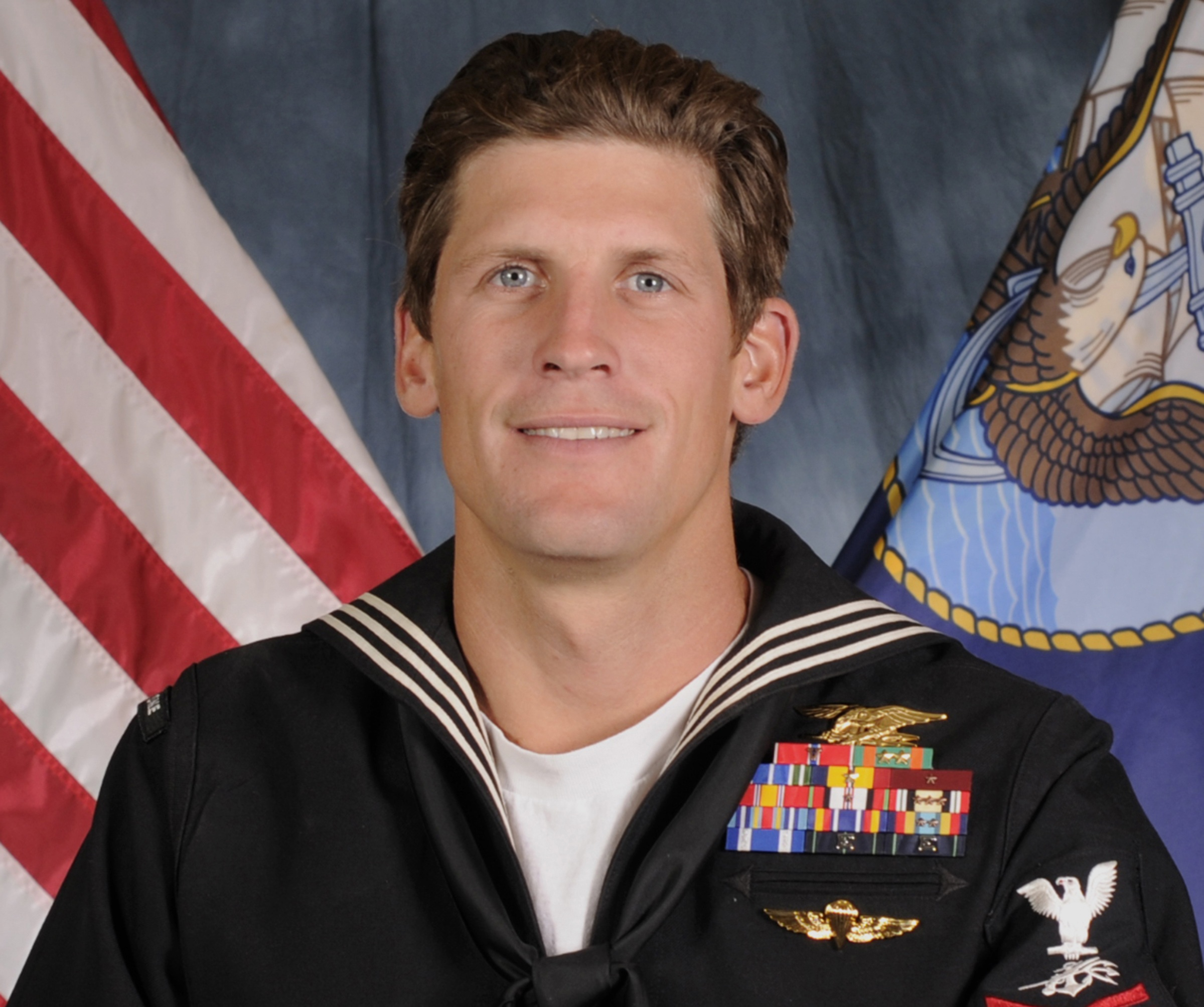 U.S. Navy Warfare Operator 1st Class Charles Keating IV, 31, of San Diego. U.S. Navy via Reuters