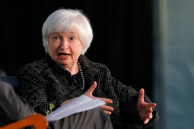 Federal Reserve Chair Janet Yellen speaks at the Radcliffe Institute for Advanced Studies at Harvard University