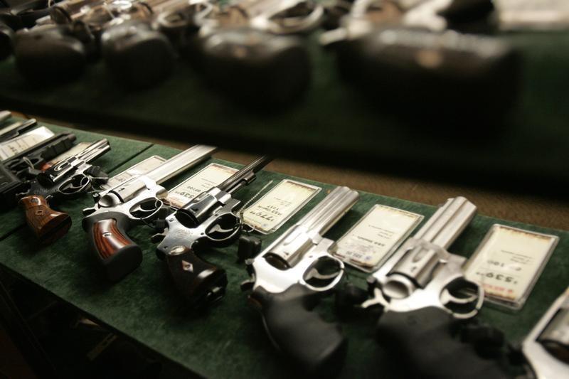 Guns at Cabela's