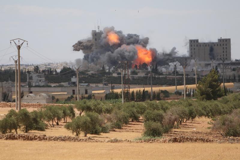 U.S. led airstrikes on ISIS