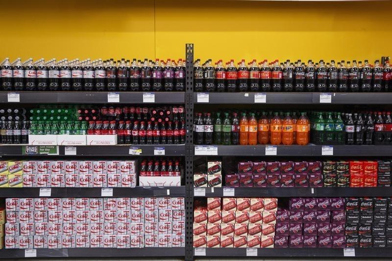 Soda in Walmart