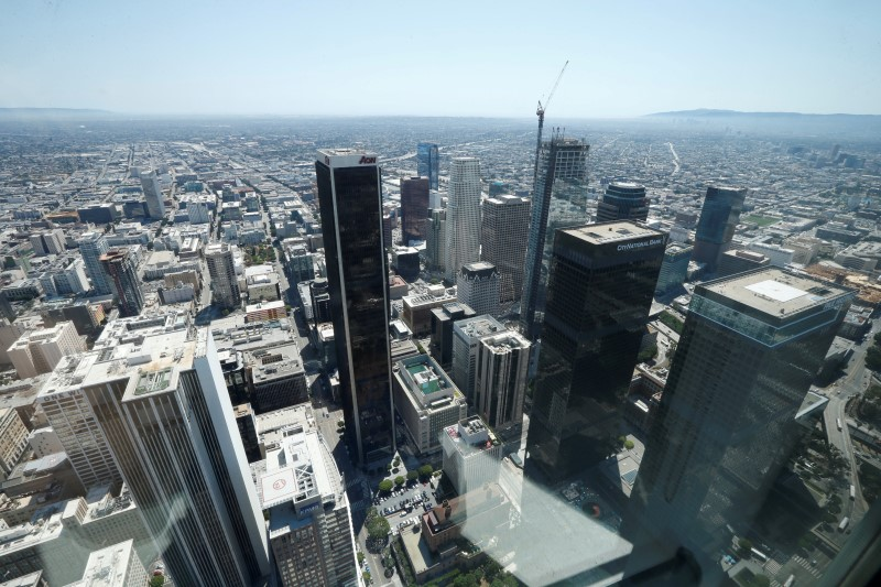Lost Angeles skyline
