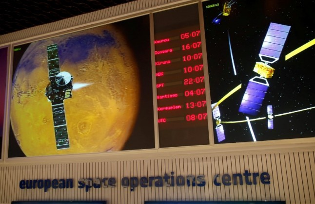 Monitors in the ESOC