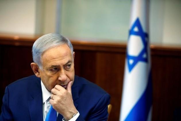 Benjamin Netanyahu Israel Prime Minister in meeting