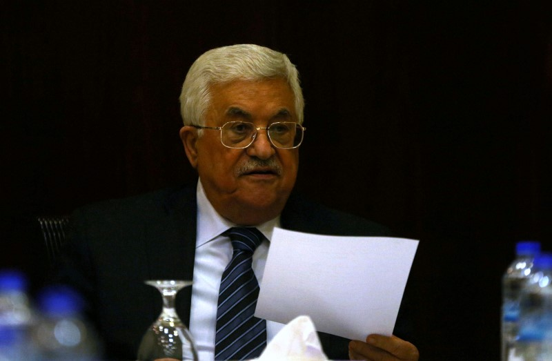 Palestinian President Mahmoud Abbas accuses rabbis of poisoning the water