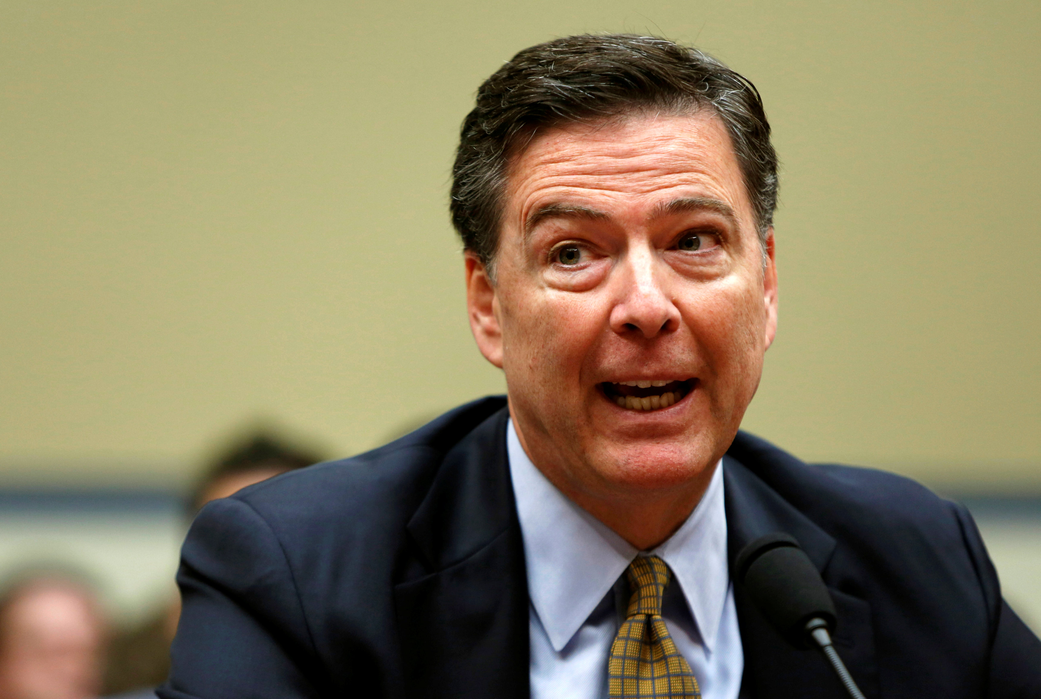 FBI Director Comey testifies before House Oversight and Government Reform Committee in Washington