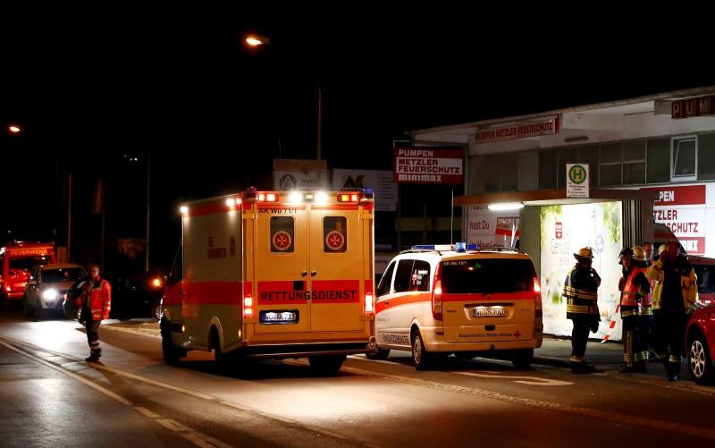 German emergency services