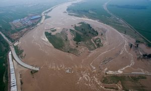 Flooding in China one of the many natural disasters
