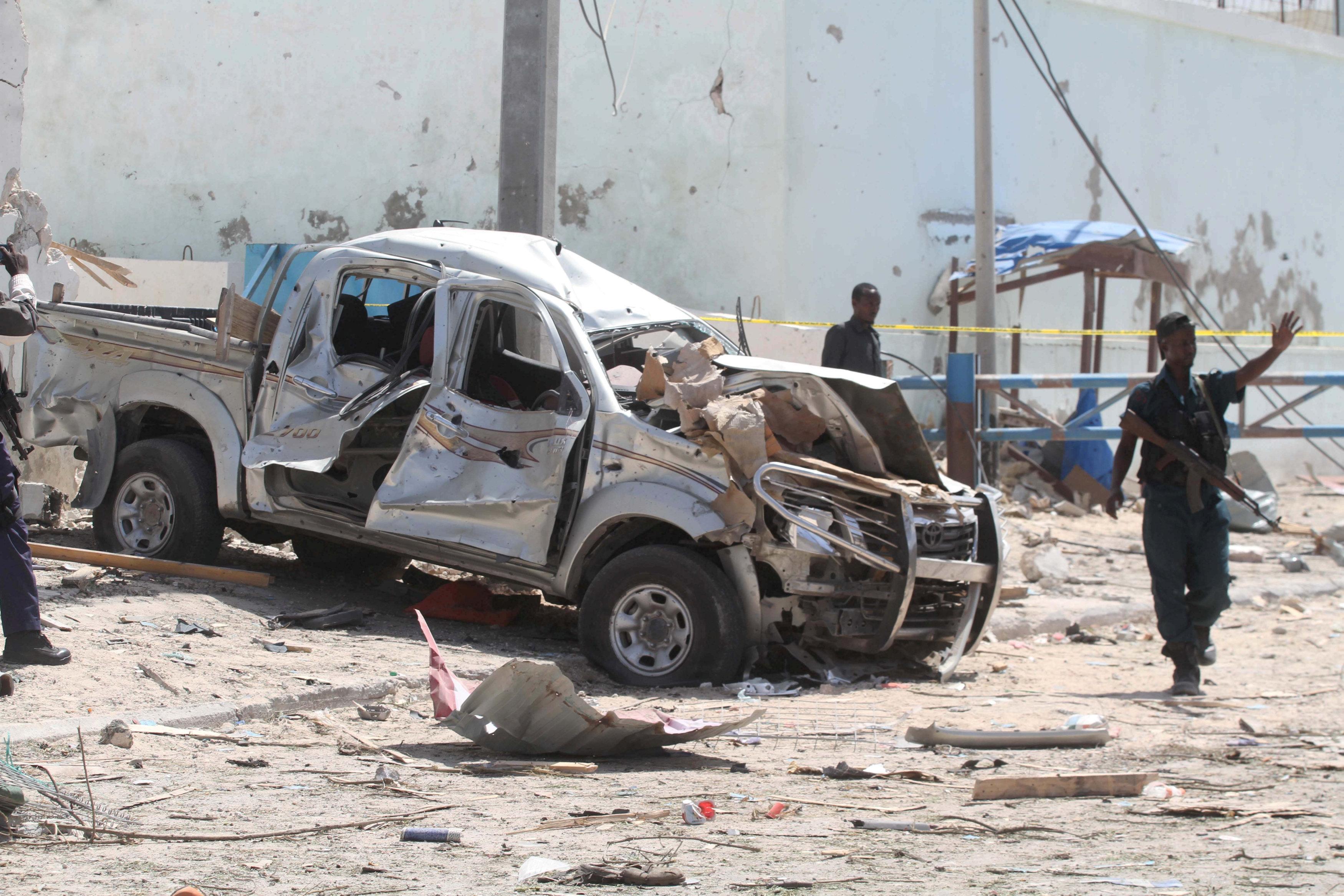 Suicide bombing in Somalia