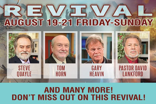 Revival at Morningside August 19-21