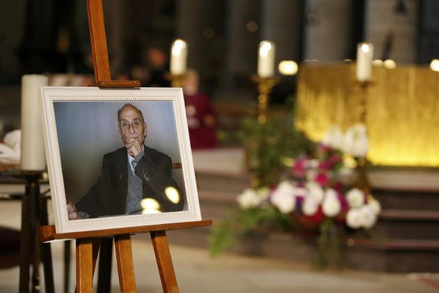 Picture of slain French priest