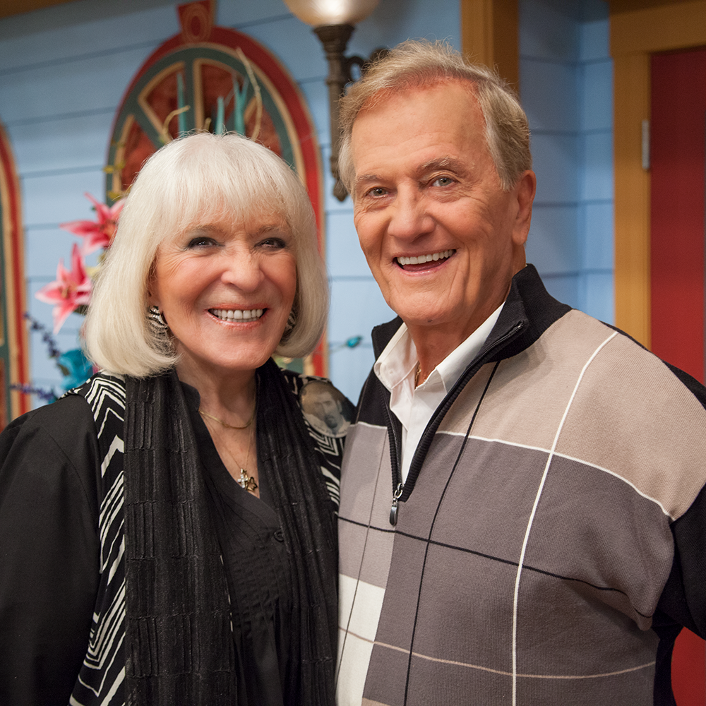 Pat and Shirley Boon at Morningside for the Jim Bakker Show