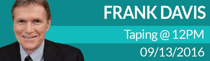 Frank Davis 12:00 pm Sep 13, 2016