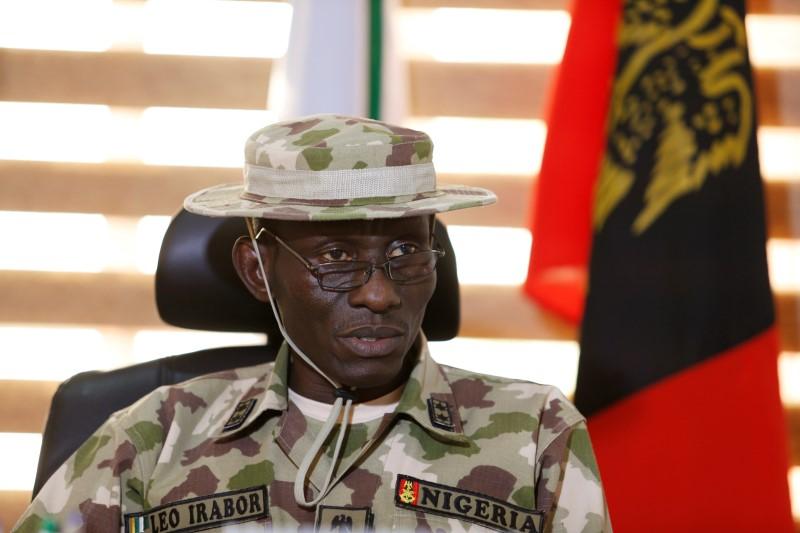 "Major General Lucky Irabor, commander of ""Operation Lafiya Dole"","