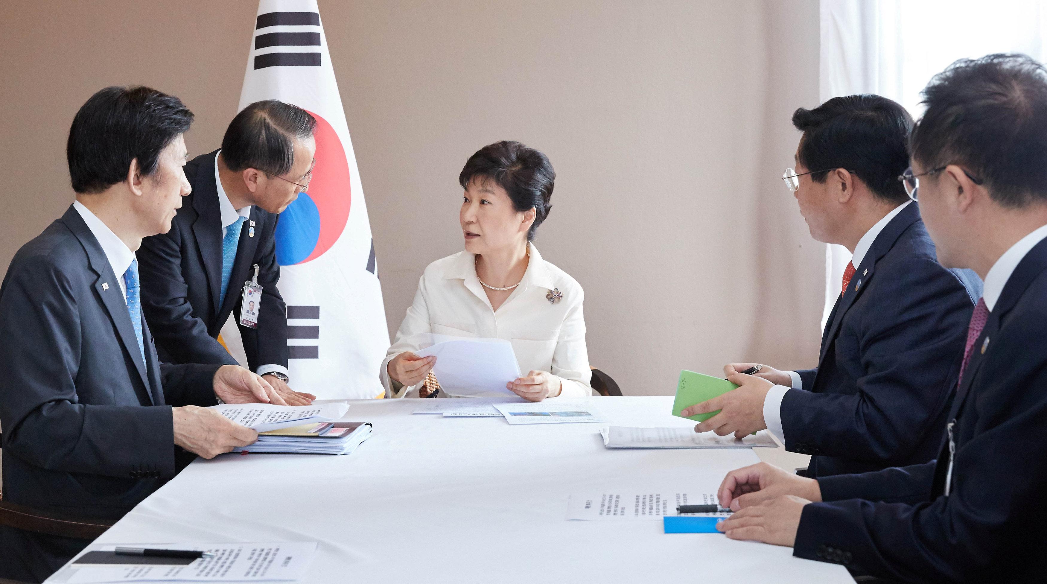 South Korean emergency meeting
