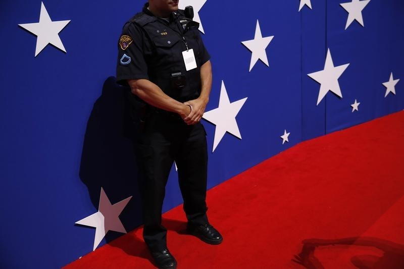 Police officer at Republican convention