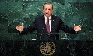 urkish President Tayyip Erdogan addresses the United Nations General Assembly in the Manhattan borough of New York