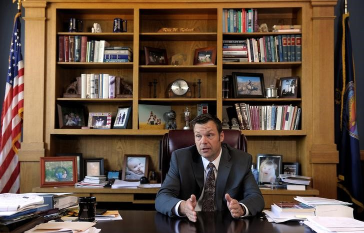 Kris Kobach, Kansas Secretary of State