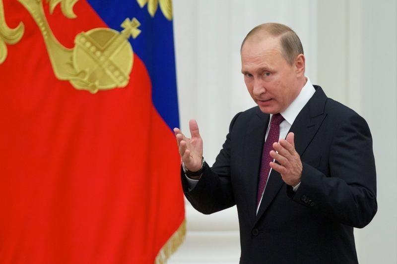 Putin at award ceremony
