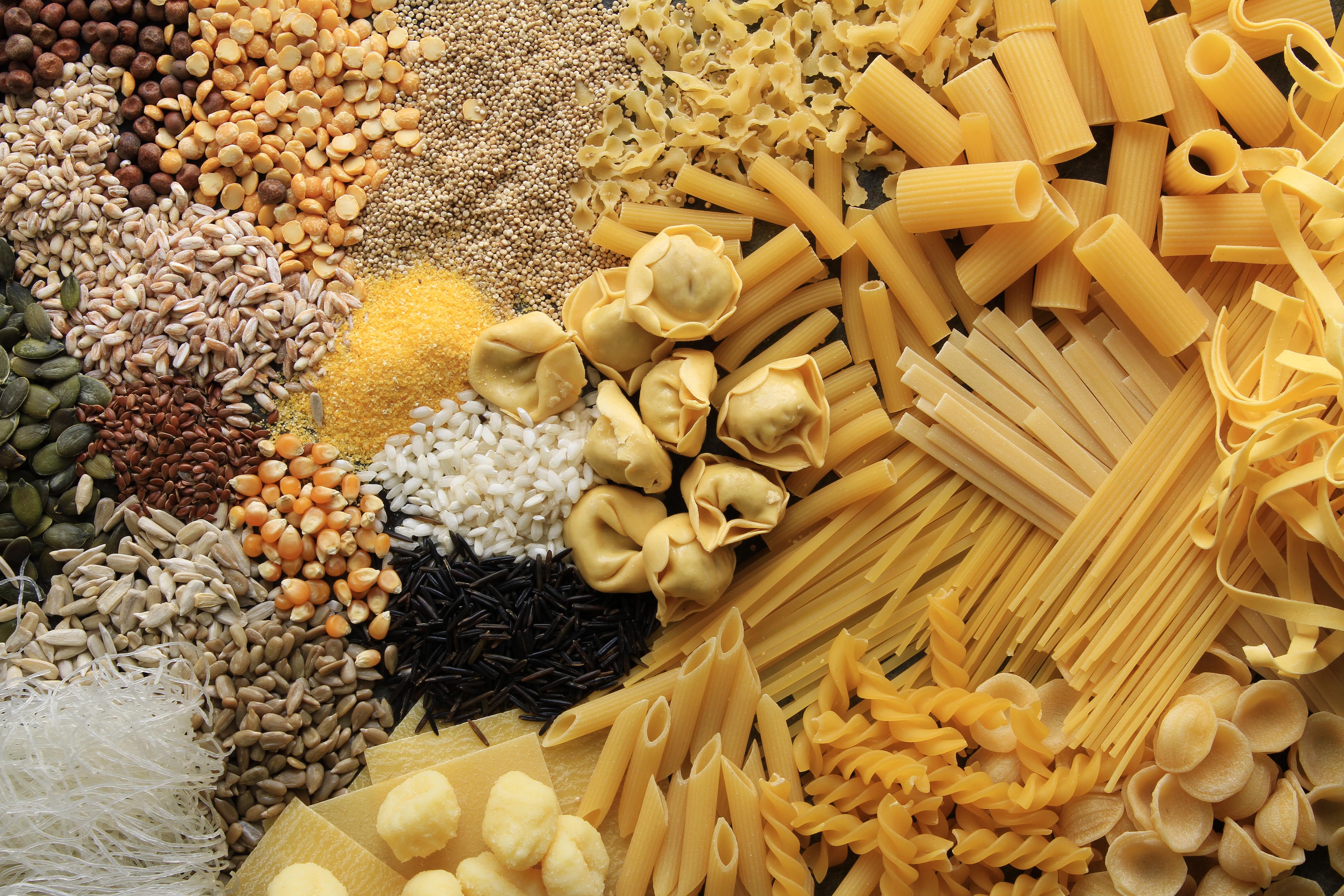 food - grain, pasta, rice