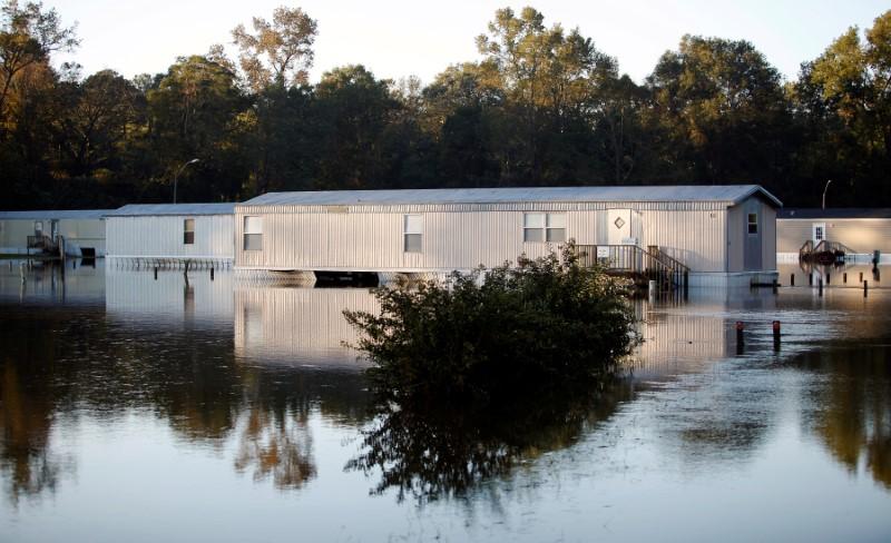 Flooded motor homes