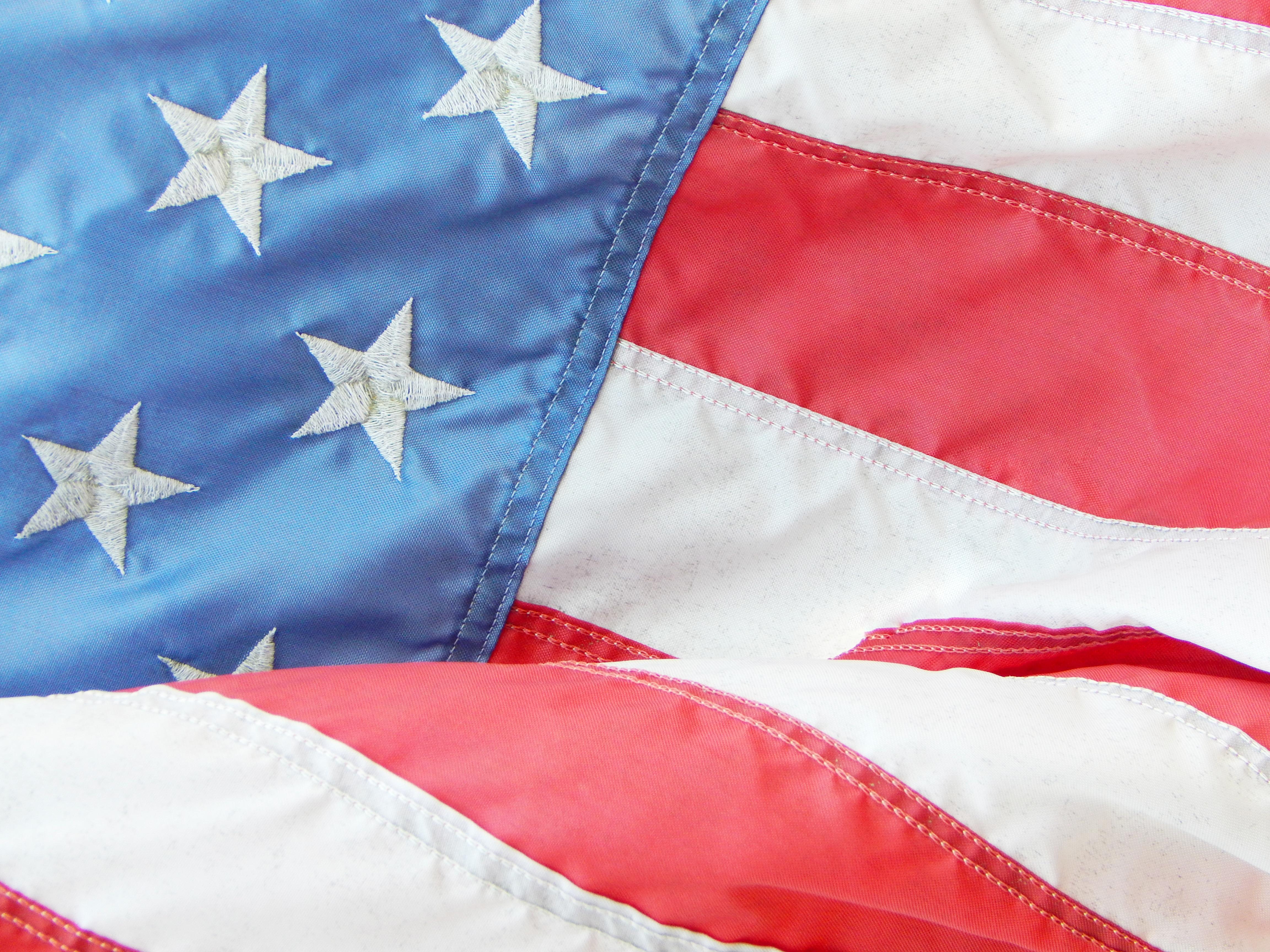 American Flag - VOTE