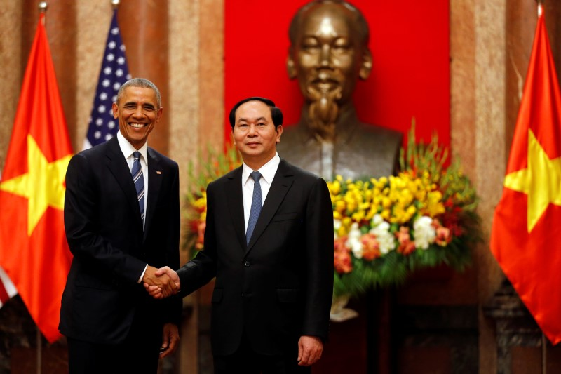 US and Vietnam leaders