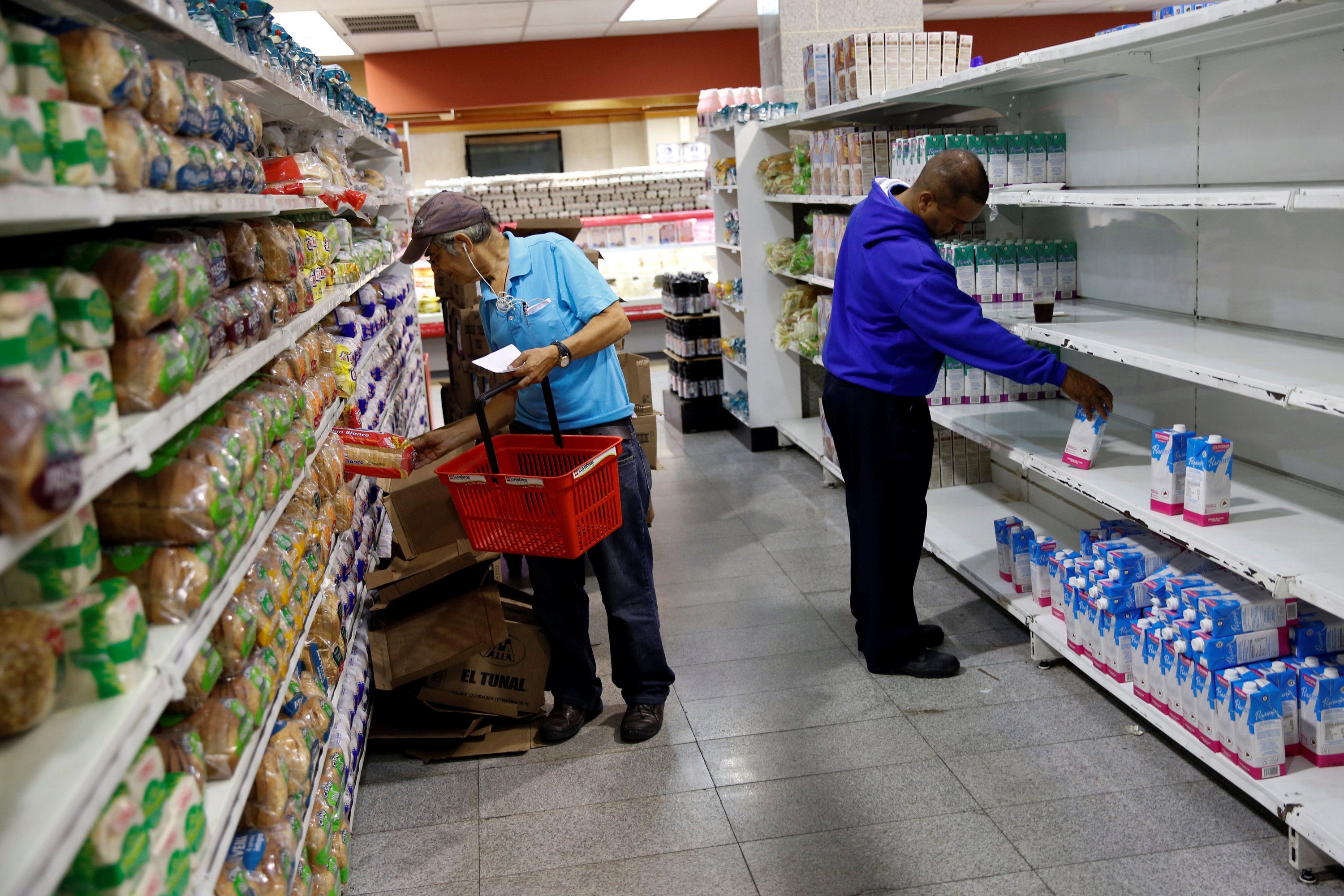 Venezuela's people looking for affordable groceries