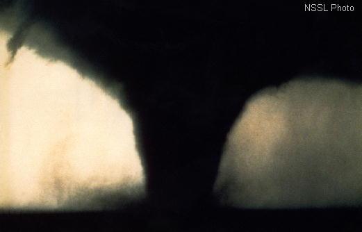 Stock photo of tornado, wikicommons