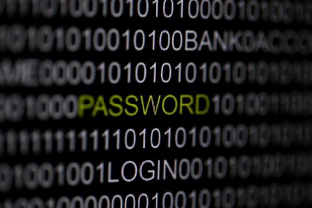 Password on Computer Screen