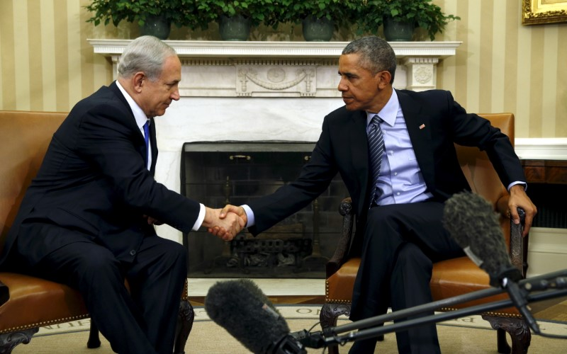 President Obama and Benjamin Netanyahu