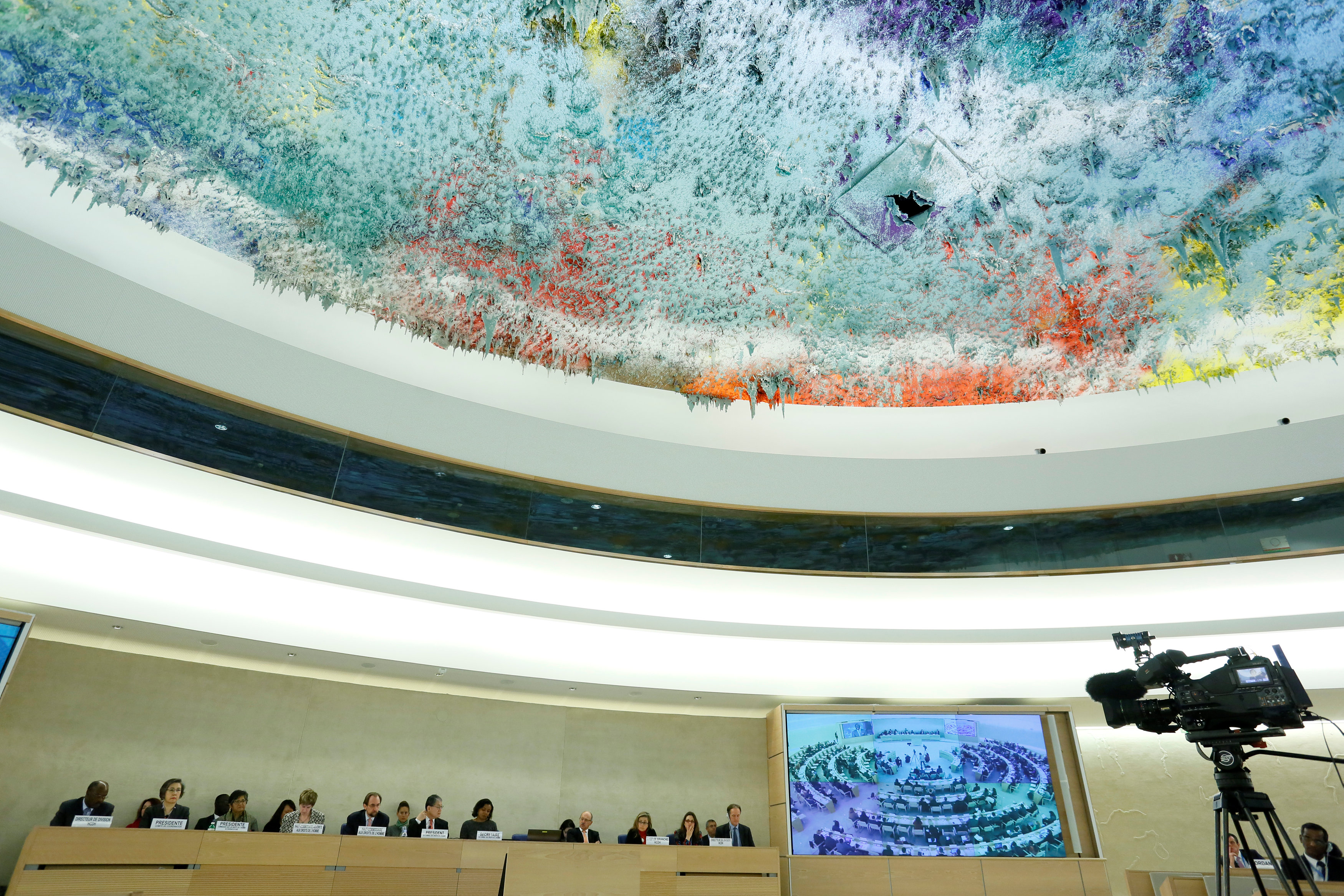 General view of the Human Rights Council 26th Special Session on the human rights situation in South Sudan, Geneva, Switzerland,